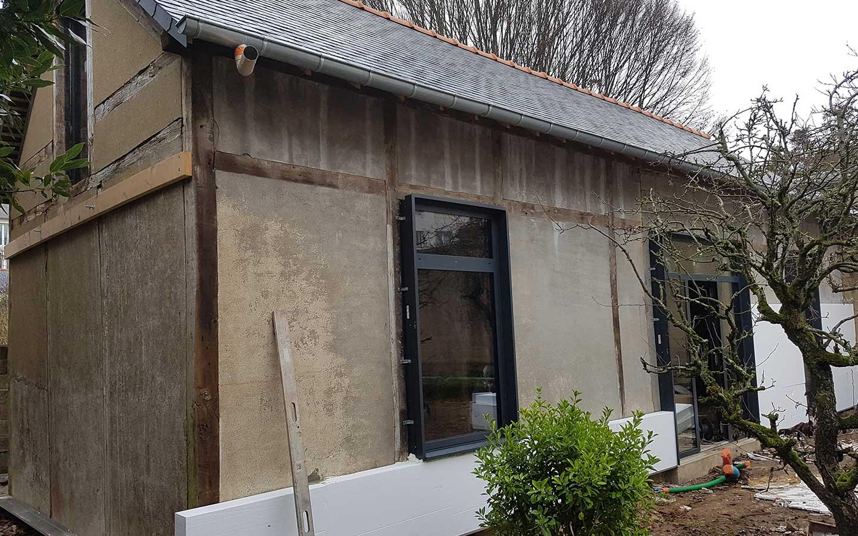 Isolation Mur Exterieur Renovation sarl carreira - isolation thermique par l'extérieur